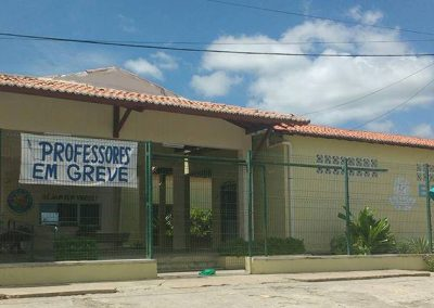 Escola Luiza Távora, em Jucás, permanece em greve