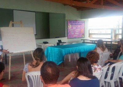 Professores de Jaguaruana e Russas durante Greve Geral da Educação