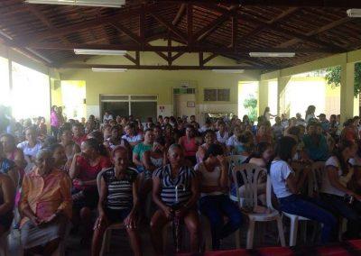 Assembleia geral com pais, alunos e professores em Catarina pela Greve Geral da Educação