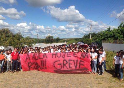 Caminhada pela Greve Geral da Educação em Catarina