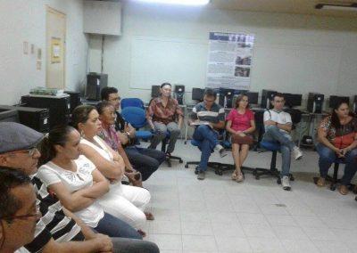 Reunião com professores para discutir a Greve Geral da Educação - Cedro