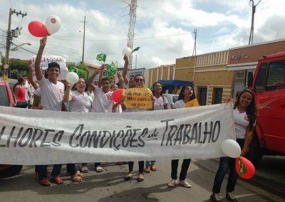 Mobilização pela Greve Geral da Educação na Escola de Ensino Médio Emanuel - Choró