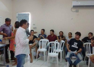 Sindicato APEOC realiza plenária regional no Litoral Leste, em Aracati, com professores de Fortim, Itaiçaba, Beberibe e Aracati tratando de atividades da Greve Geral da Educação