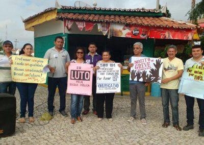 Professores em mobilização pela Greve Geral da Educação - Irauçuba