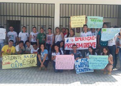 Roda de Conversa sobre a Greve Geral com professores e alunos de Sobral e Forquilha.