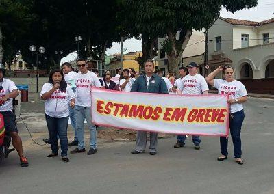 Ato dos professores em greve - Viçosa