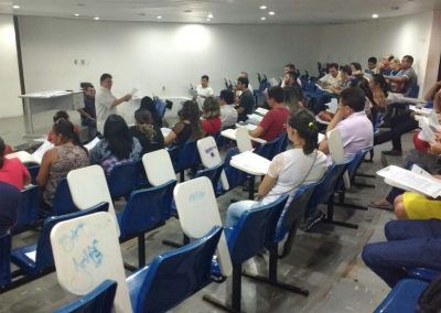 Plenária Regional com professores de Baturité, Redenção e Itapiúna.