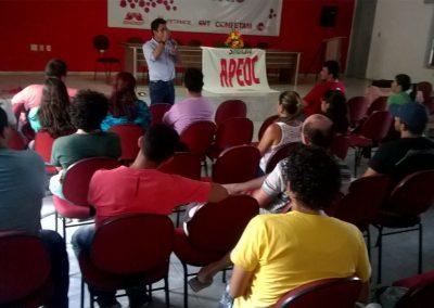 Plenária Regional com professores da Região do Vale do Curu.