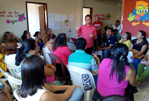Caso FUNDEF: Sindicato APEOC realiza encontros em Paracuru e Itaiçaba
