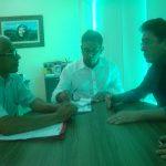 Sindicato APEOC negocia repasse do Fundef em Santana do Cariri
