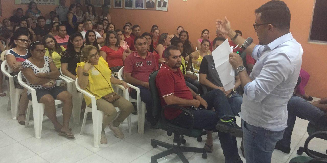 Graça: Sindicato APEOC realiza plenária com professores para discutir precatório do FUNDEF
