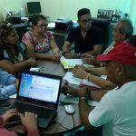 Sindicato APEOC recebe entidades de Canindé pra confirmar acordo pelo repasse do Fundef aos professores