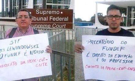 Segue vigília pelo FUNDEF de Fortaleza em Brasília