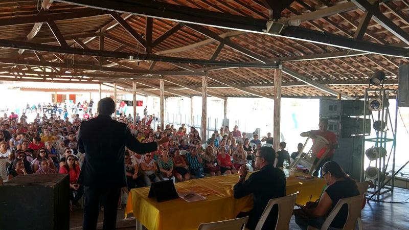 Caso Fundef: Sindicato APEOC participa de atividades em Canindé e Paramoti