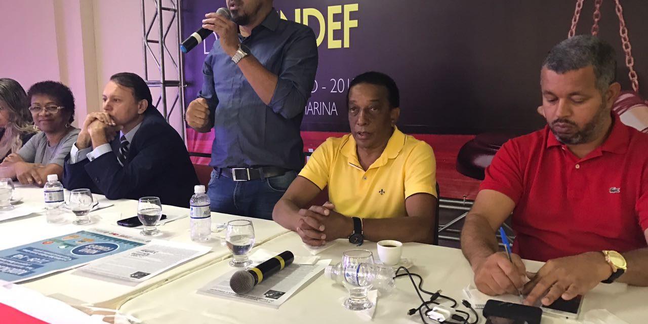 Bahia: Anizio Melo compartilha experiência sobre precatórios do Fundef com professores