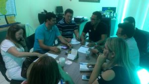 Catarina: Diretoria do Sindicato APEOC se reúne com professores que acompanham precatório do Fundef