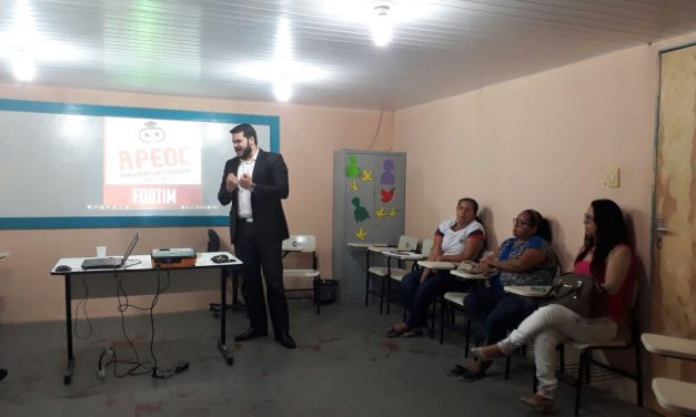 Fortim: Sindicato APEOC discute PCCR e precatório do Fundef