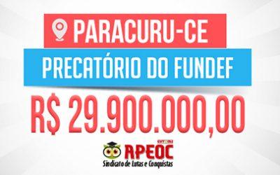 Paracuru: Acordo que garante pagamento do precatório do Fundef é homologado pela Justiça