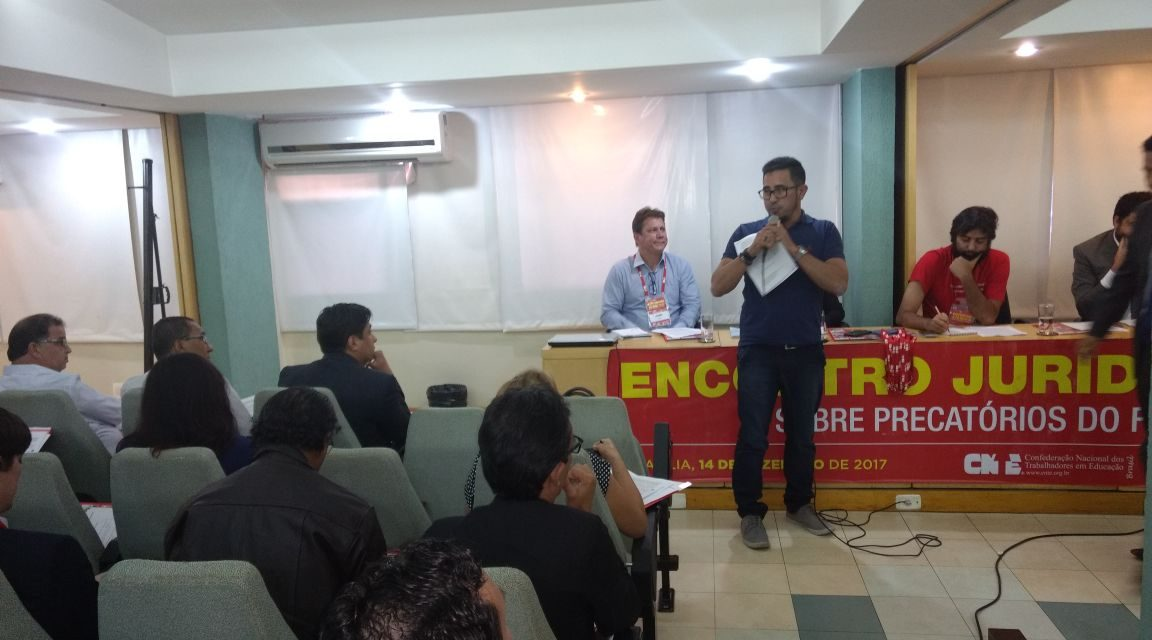 Dirigentes do Sindicato vão à CNTE compartilhar experiência do Fundef
