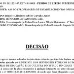 Camocim: TRF mantém bloqueio de 60% do precatório do Fundef