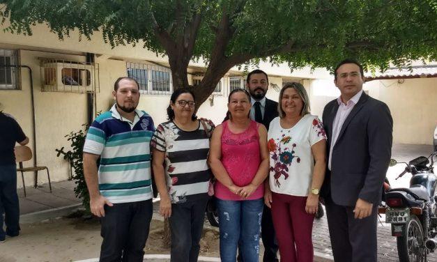 Icó: Sindicato APEOC participa de audiência sobre precatório do FUNDEF
