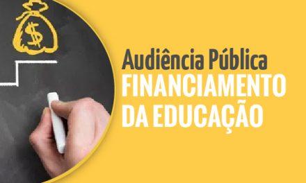 Sindicato APEOC e entidades sindicais debatem em audiência pública Financiamento da Educação