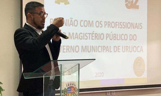 URUOCA: APEOC DISCUTE PRECATÓRIOS DO FUNDEF EM AUDIÊNCIA E PREFEITO GARANTE 60% PARA O MAGISTÉRIO