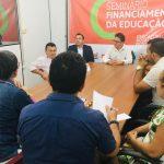CHORÓ: APEOC REÚNE-SE COM PROFESSORES E VEREADORES PARA DISCUTIR PRECATÓRIOS DO FUNDEF
