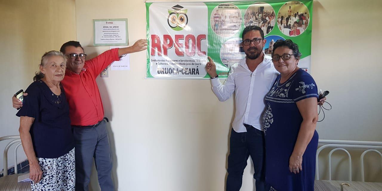 PRECATÓRIO DO FUNDEF URUOCA: APEOC E PREFEITO TERÃO ENCONTRO PARA SACRAMENTAR ACORDO DE 60% PARA O MAGISTÉRIO